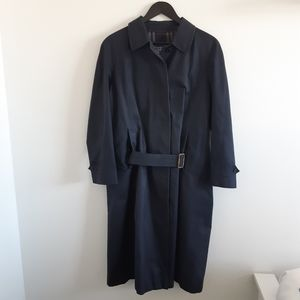 BURBERRY Vintage Prorsum Dark Blue Trench Coat